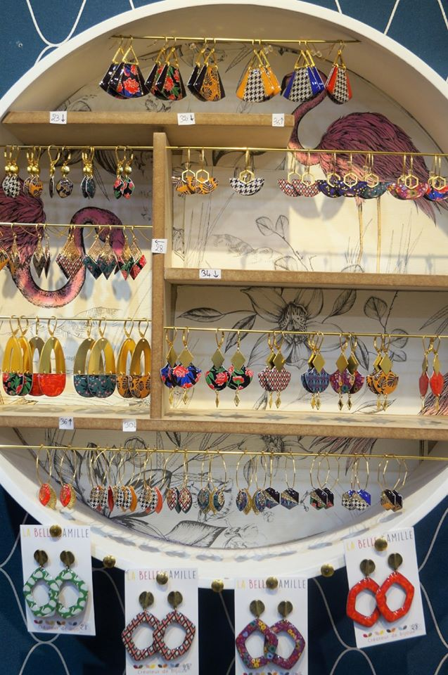 La Belle Camille, bijoux de créateurs à la boutique Chic Ethnique