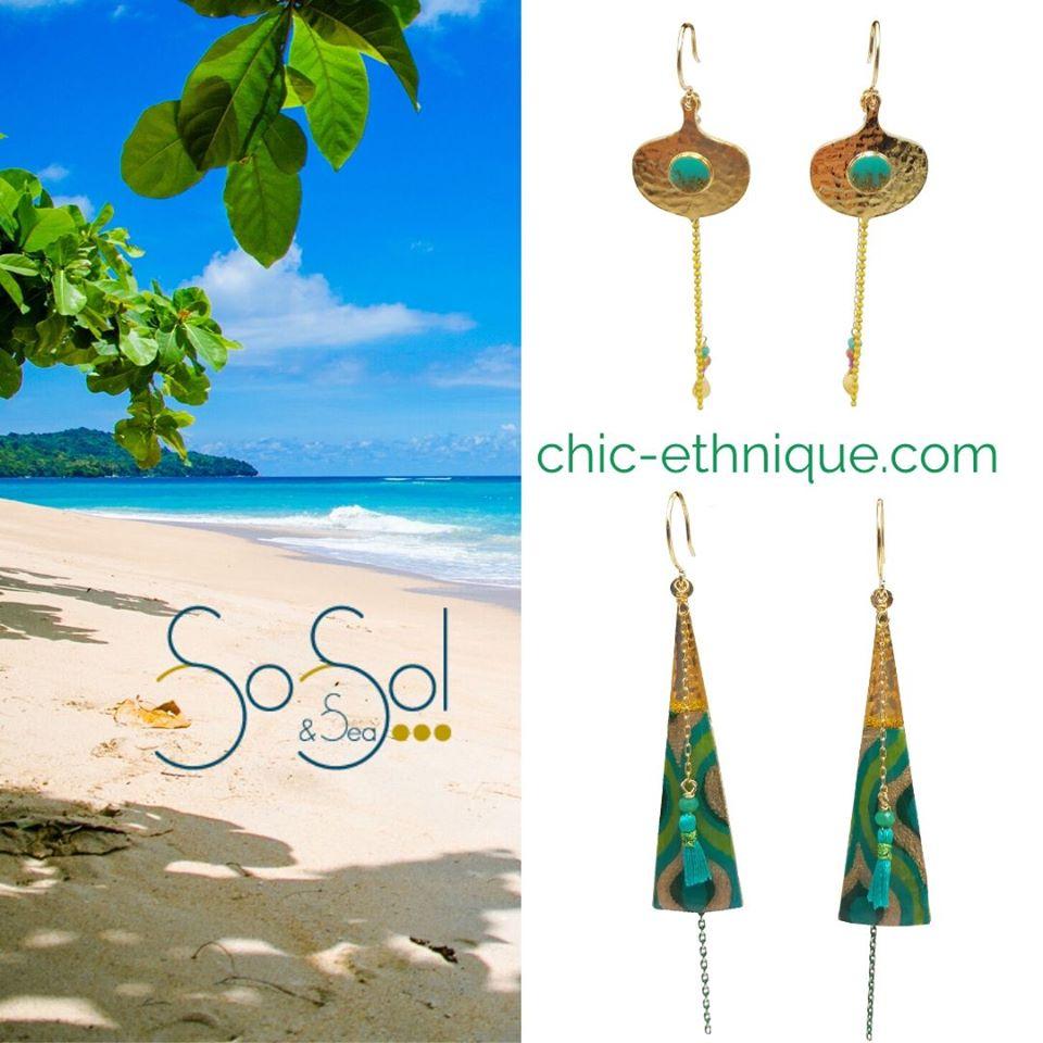 Des bijoux ethniques et colorés Sosol and Sea