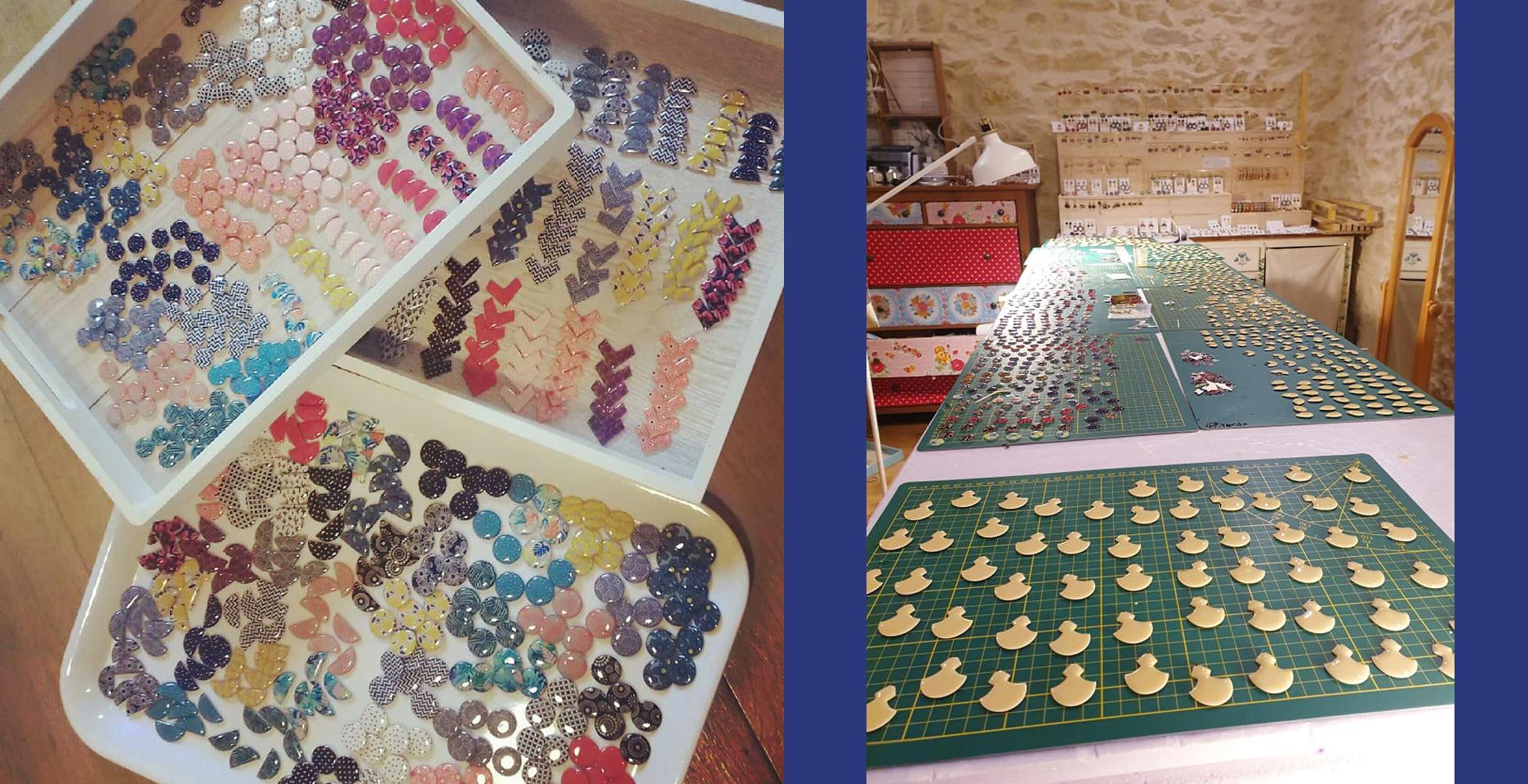 Production artisanale de bijoux La Belle Camille