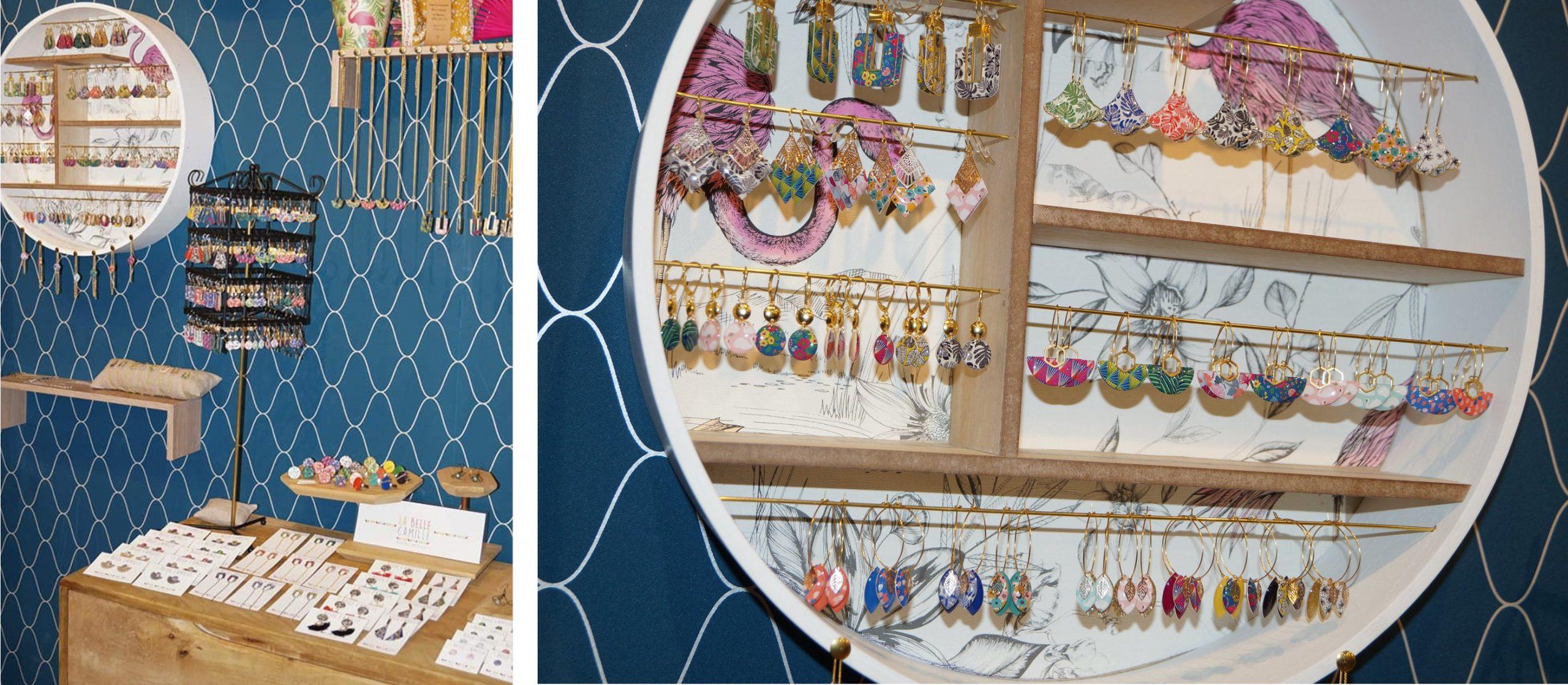 Les bijoux de créateurs dans la boutique : La Belle Camille