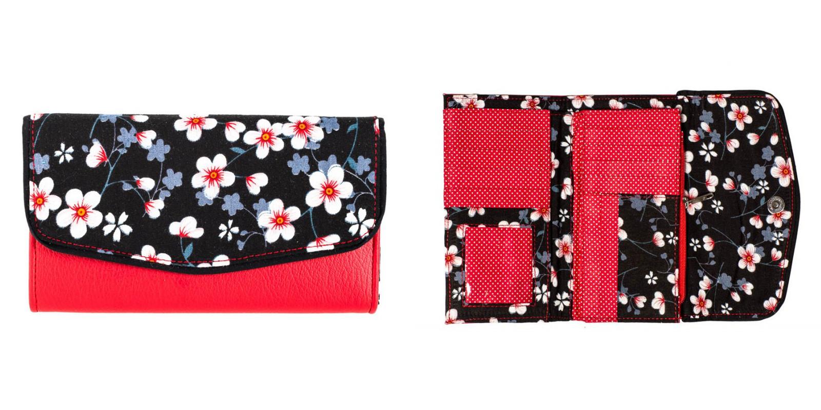 Un portefeuille coloré et original de Bibop et lula