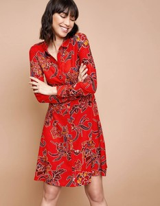 Robe chemisier rouge La Fiancée Du Mékong